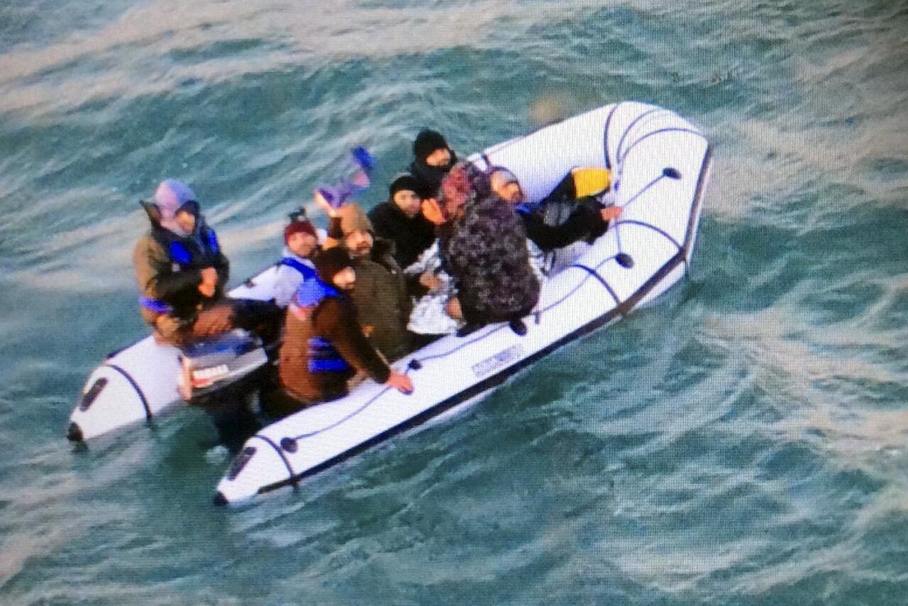 Bild zu Migranten in Frankreich