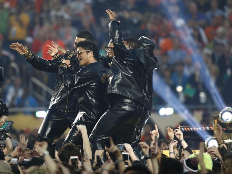 Bild zu Super Bowl - Bruno Mars