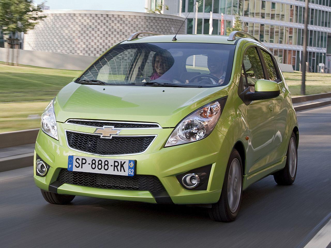 Bild zu Platz 4: Chevrolet Spark