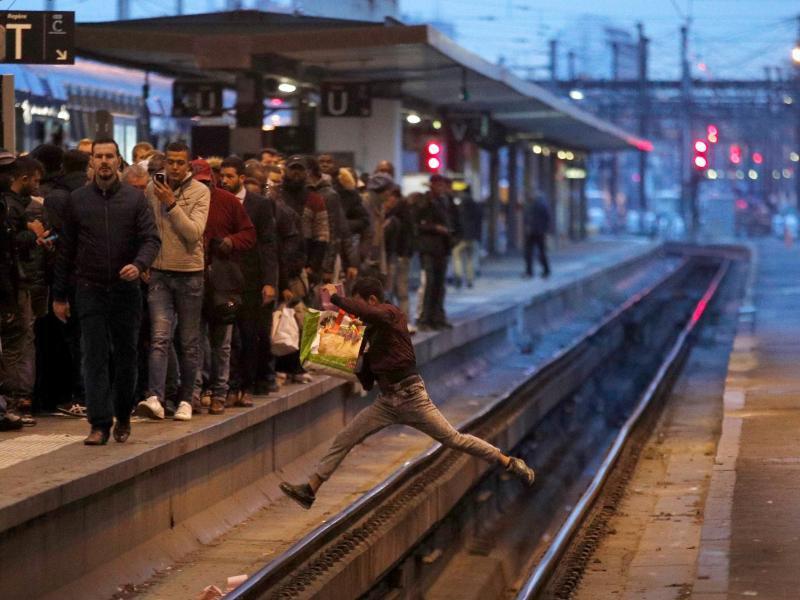 Bild zu Bahnstreik in Frankreich