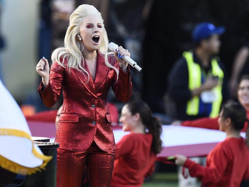 Bild zu Super Bowl - Lady Gaga