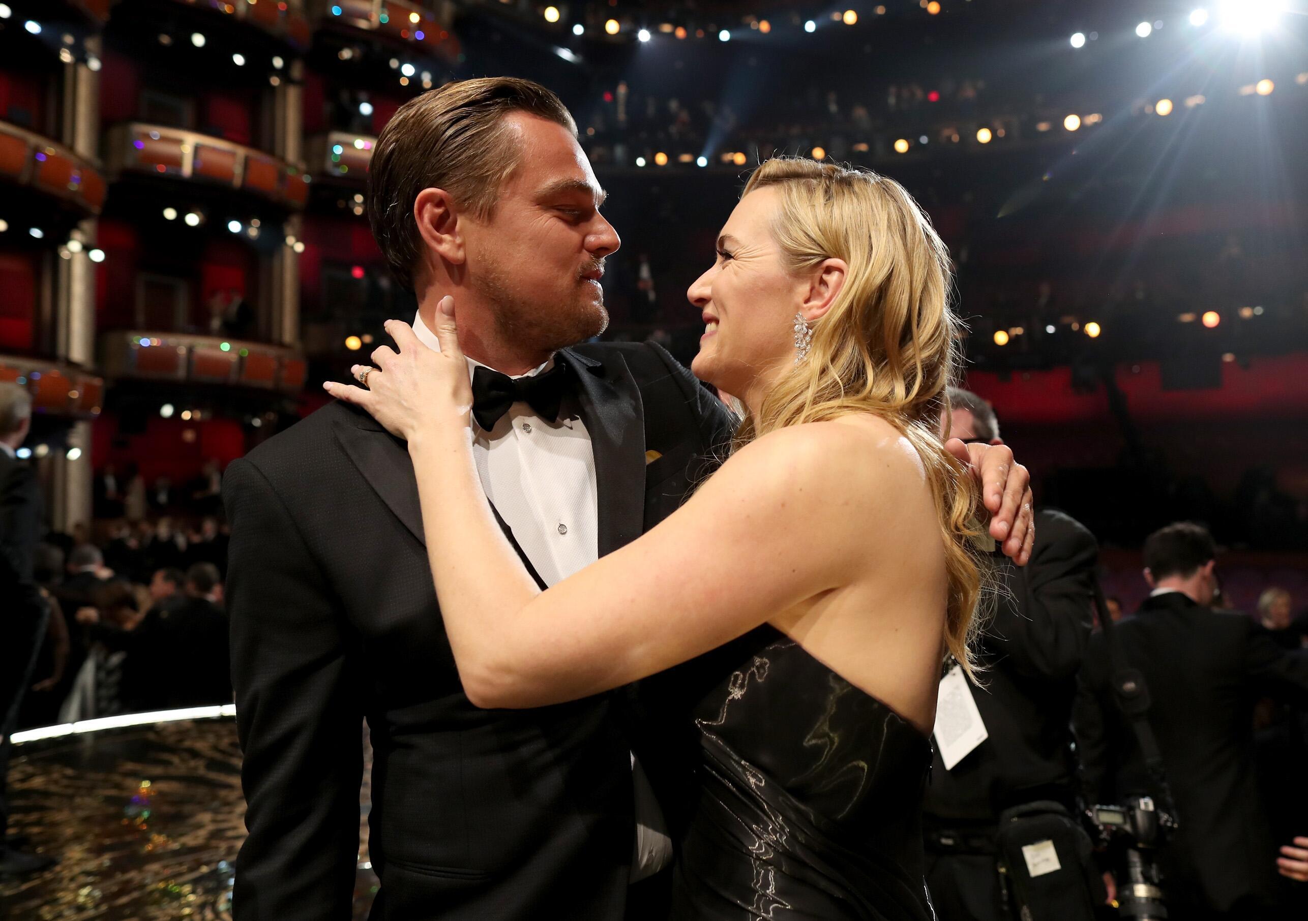 Bild zu Kate Winslet, Leonardo DiCaprio, Oscars 2016