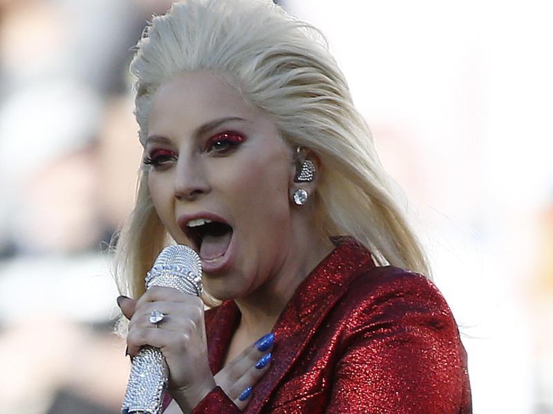 Bild zu Super Bowl -Lady Gaga