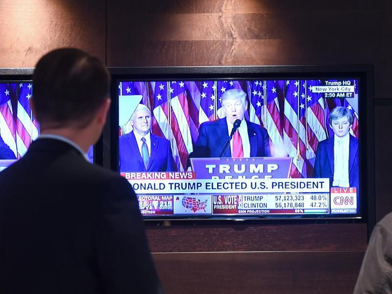 Bild zu Präsidentenwahl USA