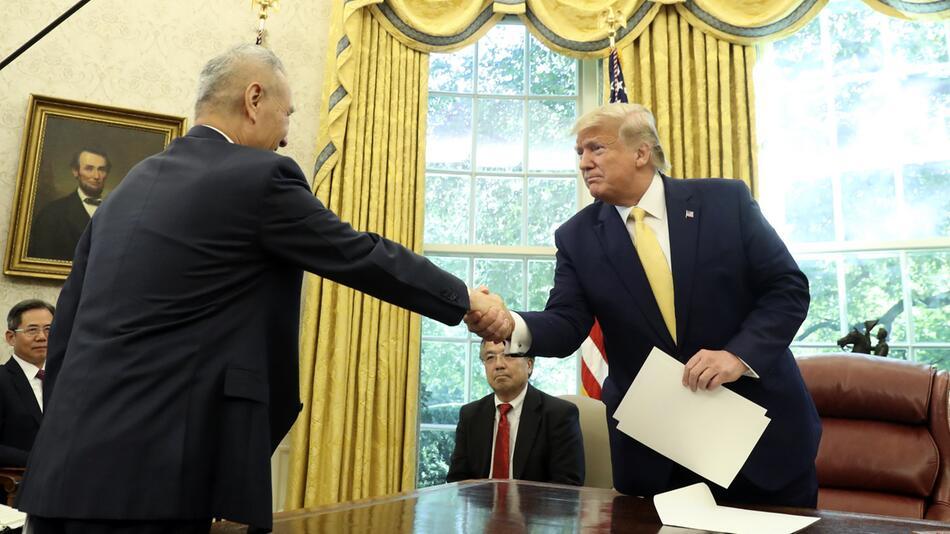 US-Präsident Trump - Teilabkommen im Handelskonflikt mit China