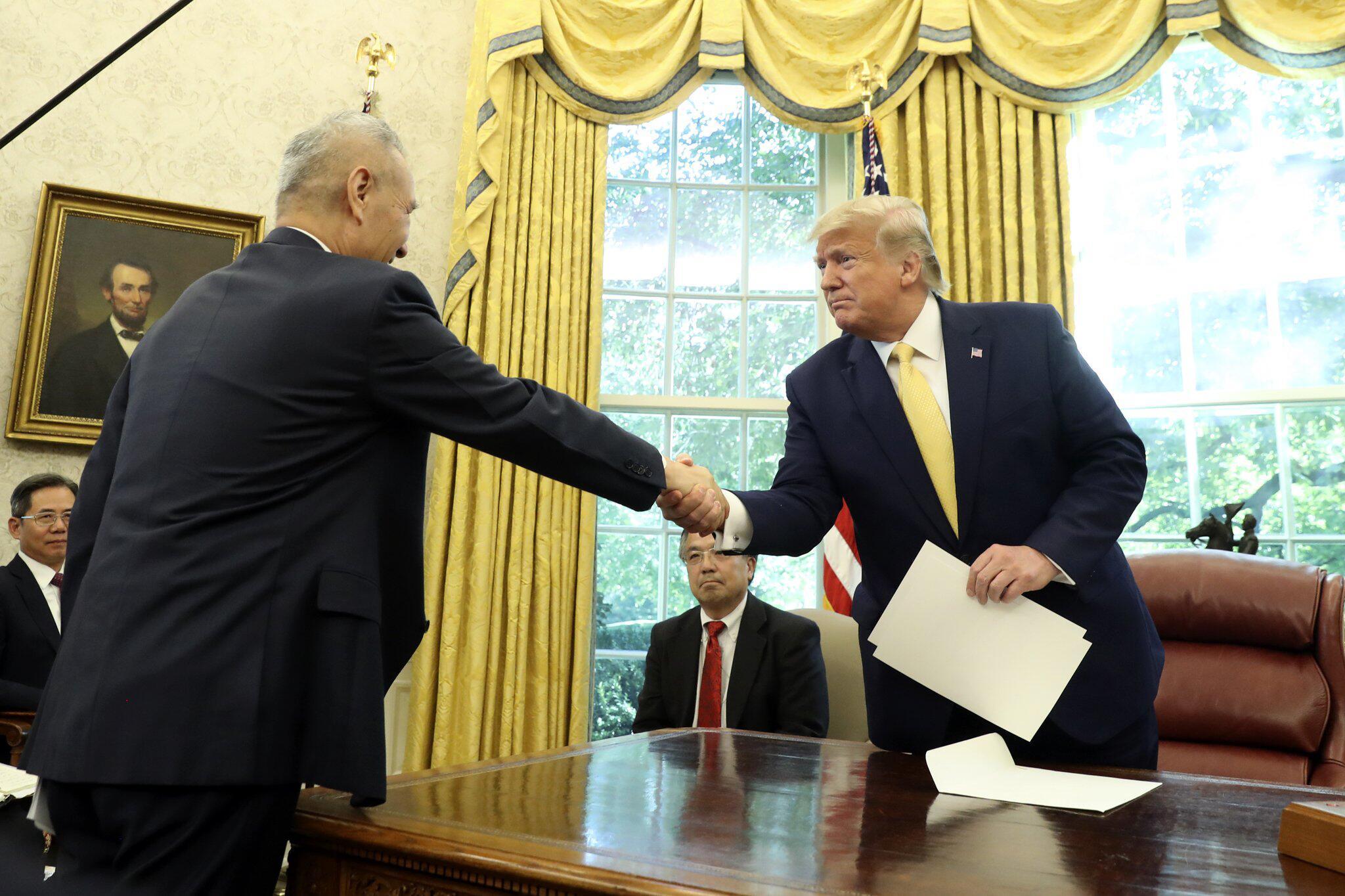 Bild zu US-Präsident Trump - Teilabkommen im Handelskonflikt mit China
