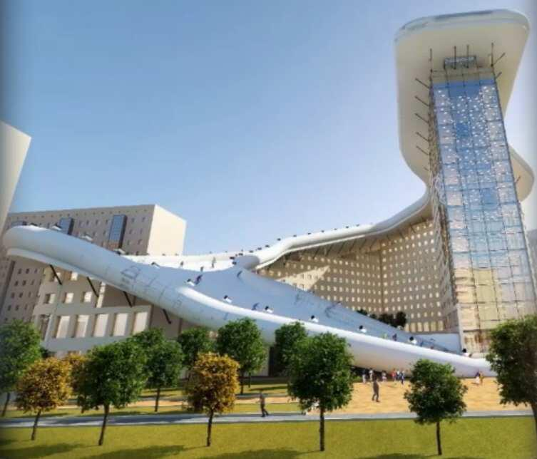 Bild zu Ski Hotel Kasachstan
