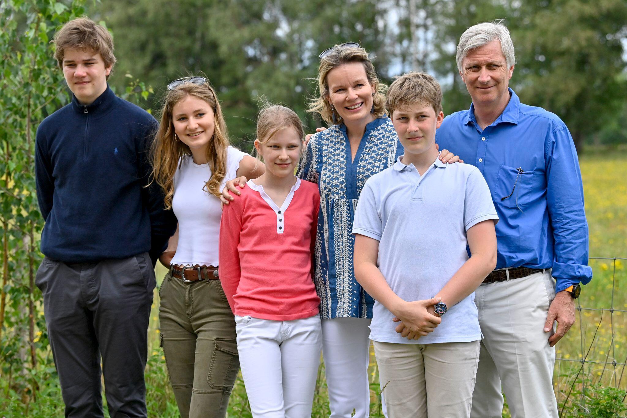 Bild zu Königshaus Belgien - Familienausflug