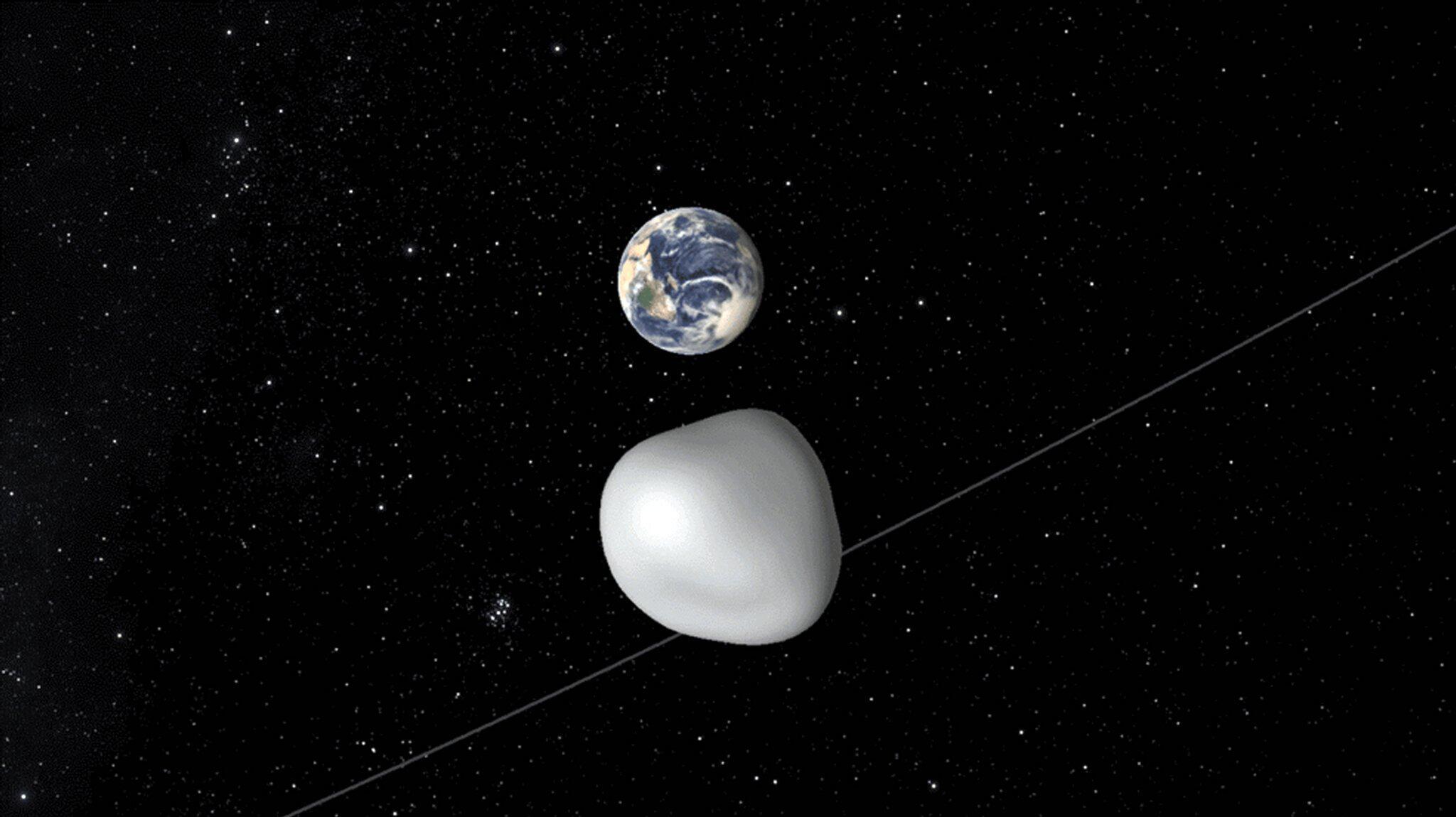 Bild zu Asteroid 2012 TC4
