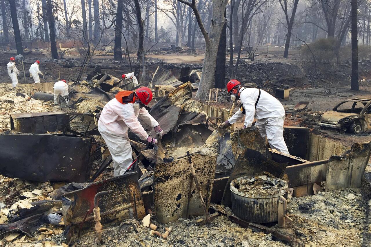 Bild zu Waldbrände in Kalifornien