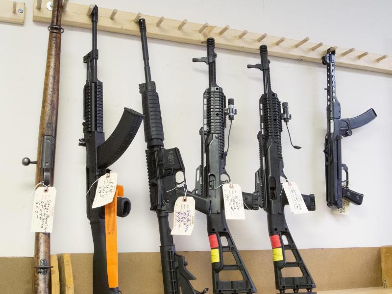 Bild zu Schusswaffen