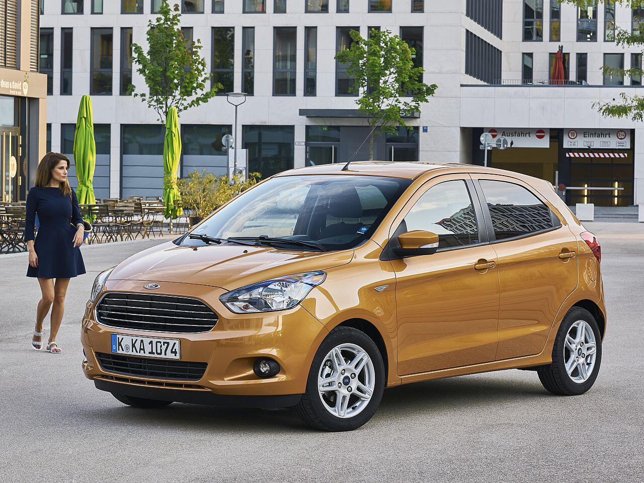 Bild zu Platz 1: Ford Ka