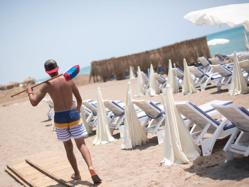 Bild zu Strand in Antalya