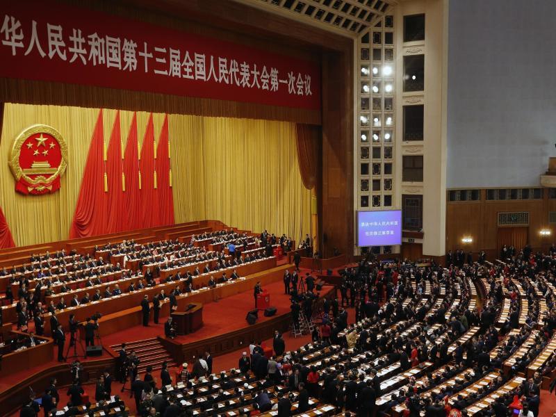 Bild zu Volkskongresses in China
