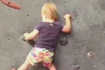 Bergsteiger-Baby