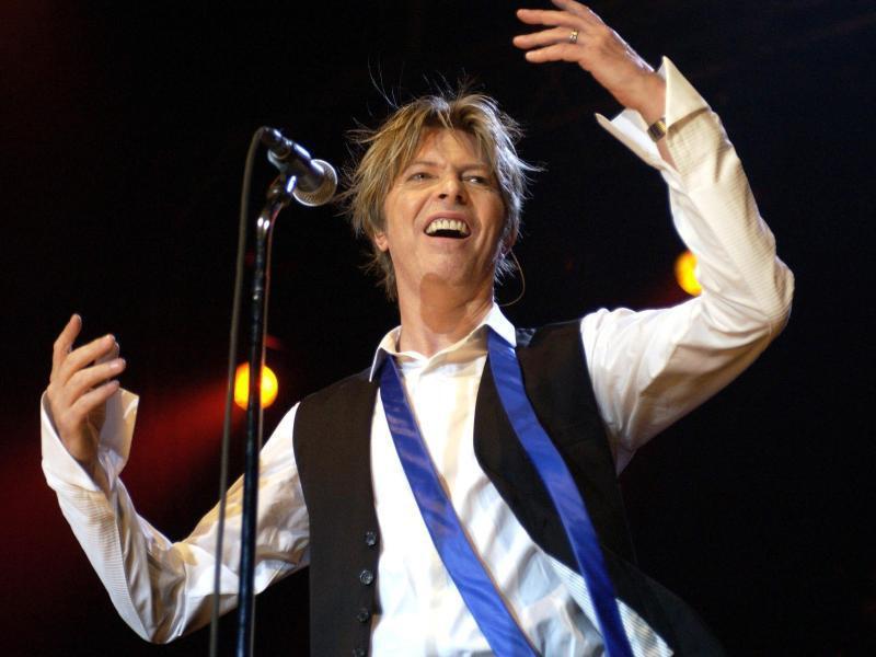 Bild zu David Bowie