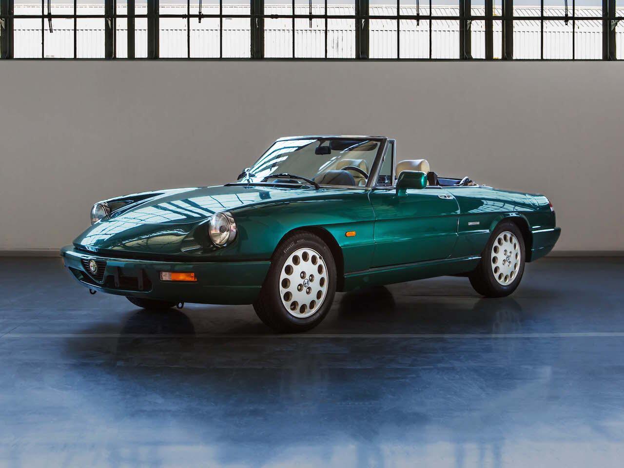 Bild zu Heritage Alfa Romeo Spider