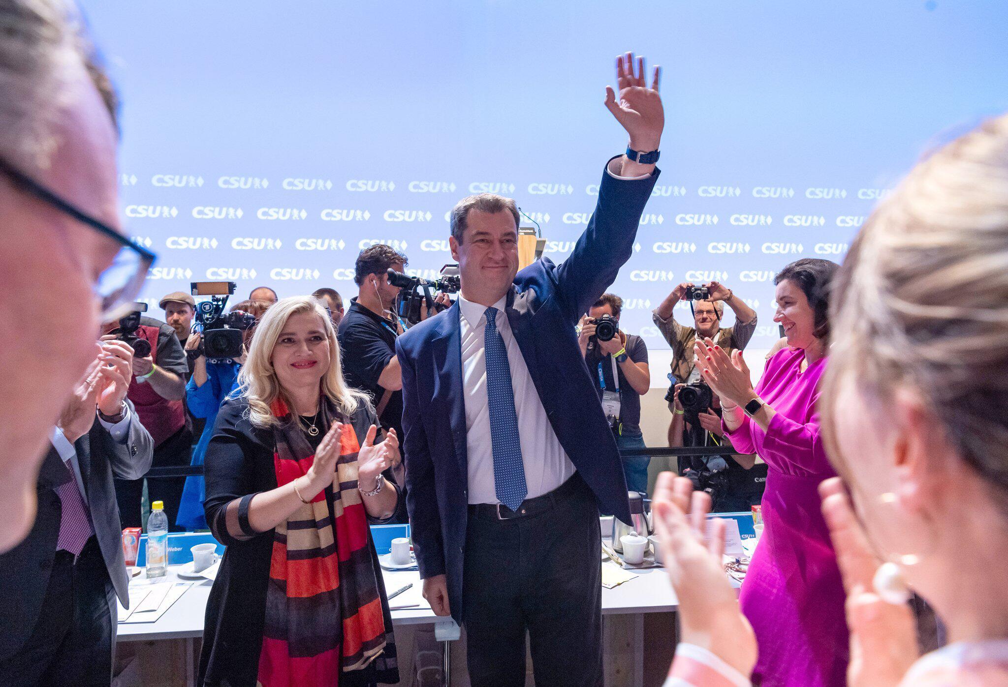 Bild zu CSU-Parteitag 2019
