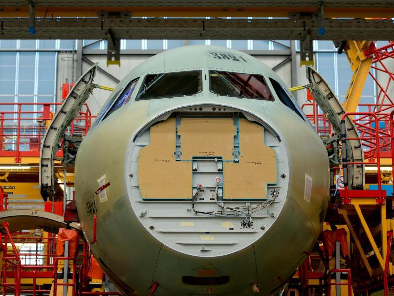 Bild zu Airbus Produktion