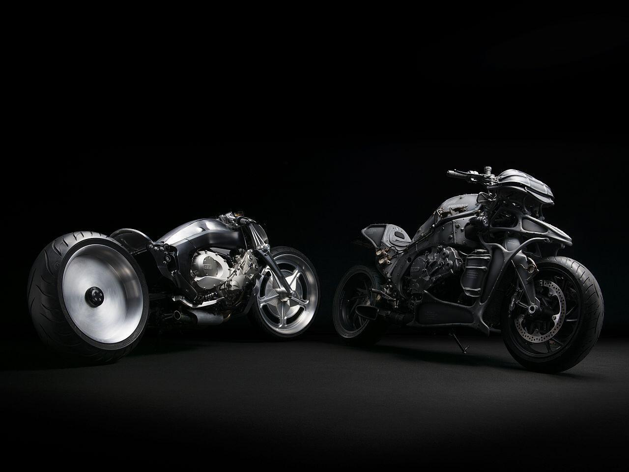 Bild zu BMW K 1600 GTL: BMW Motorrad mutiert zu radikalen Monster-Maschinen