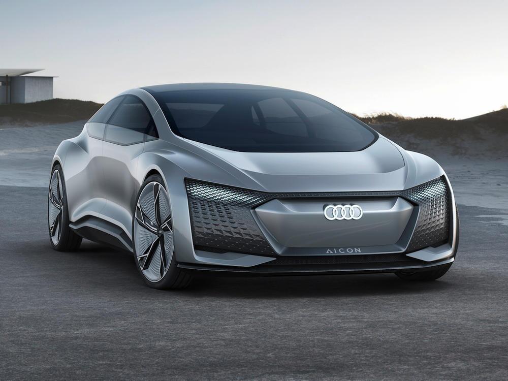 Bild zu Audi Aicon und Elaine: Die Zukunft der vollautonome Reiselimousine