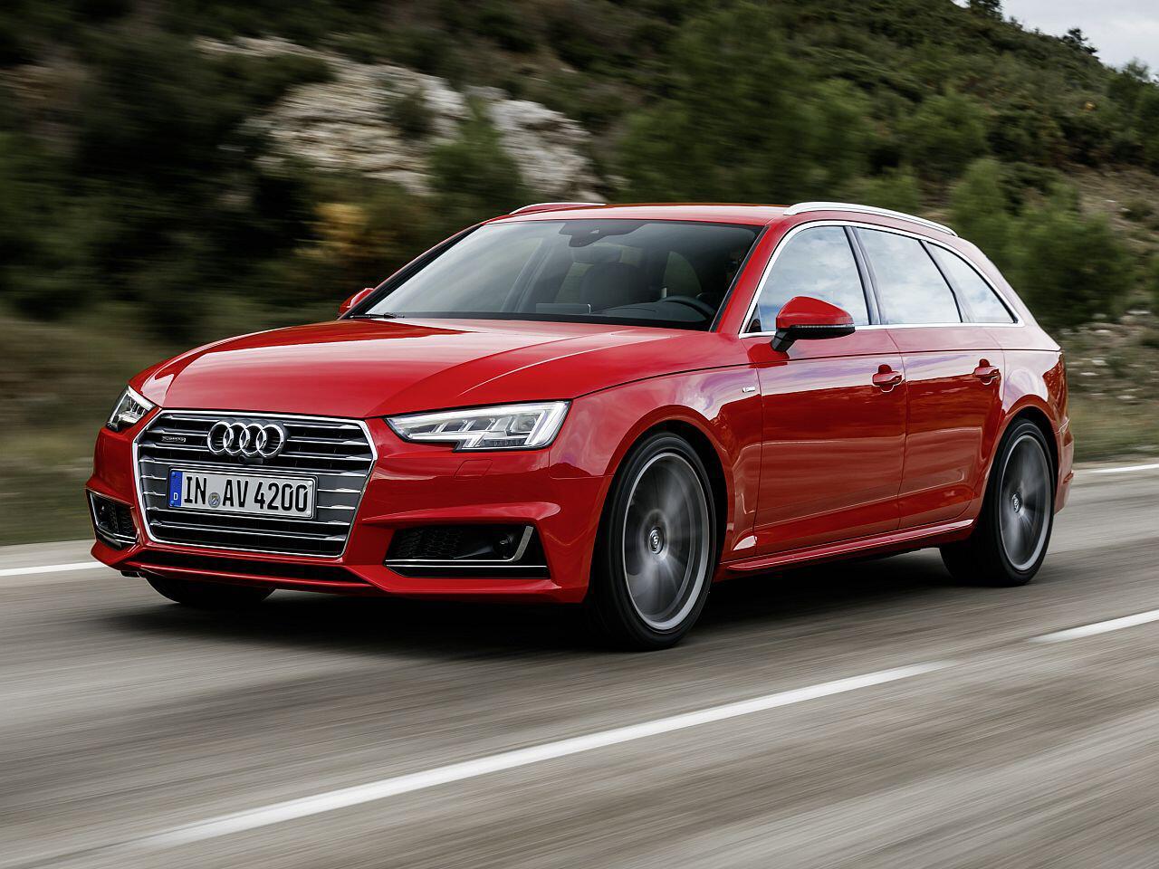 Bild zu Audi A4