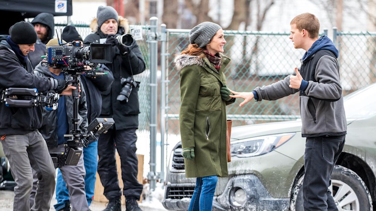 """Bild zu Pretty Woman mit 50: Julia Roberts am Set ihres neuen Films """"Ben Is back"""""""