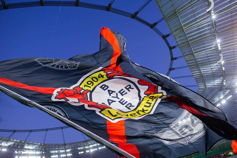 Bild zu Bayer 04 Leverkusen, Fahne