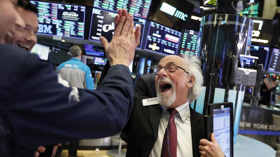 Kaufrausch an der Wall Street