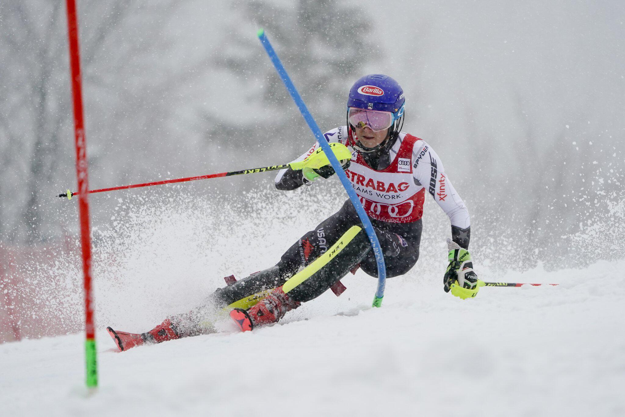 Bild zu Ski alpin, Ski, Weltcup, Mikaela Shiffrin, Spindlermühle, Slalom, Wintersport