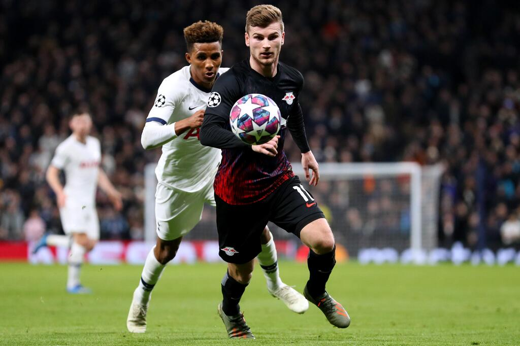 Fußball, Champions League, Gedson Fernandes, Timo Werner, RB Leipzig, Tottenham Hotsupr