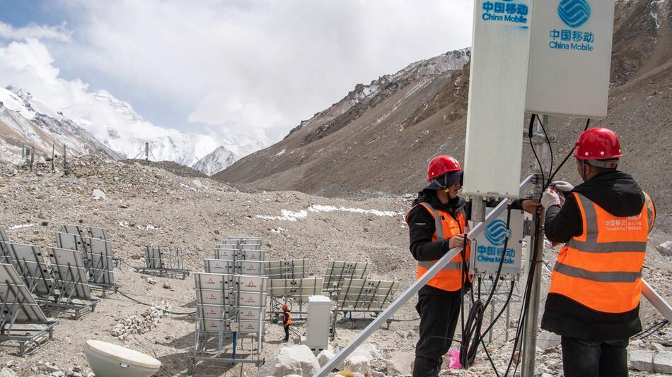 5G, Mount Everest