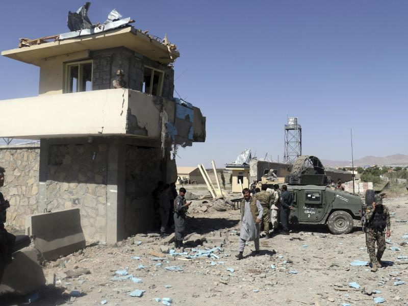 Bild zu Taliban-Angriff in Afghanistan