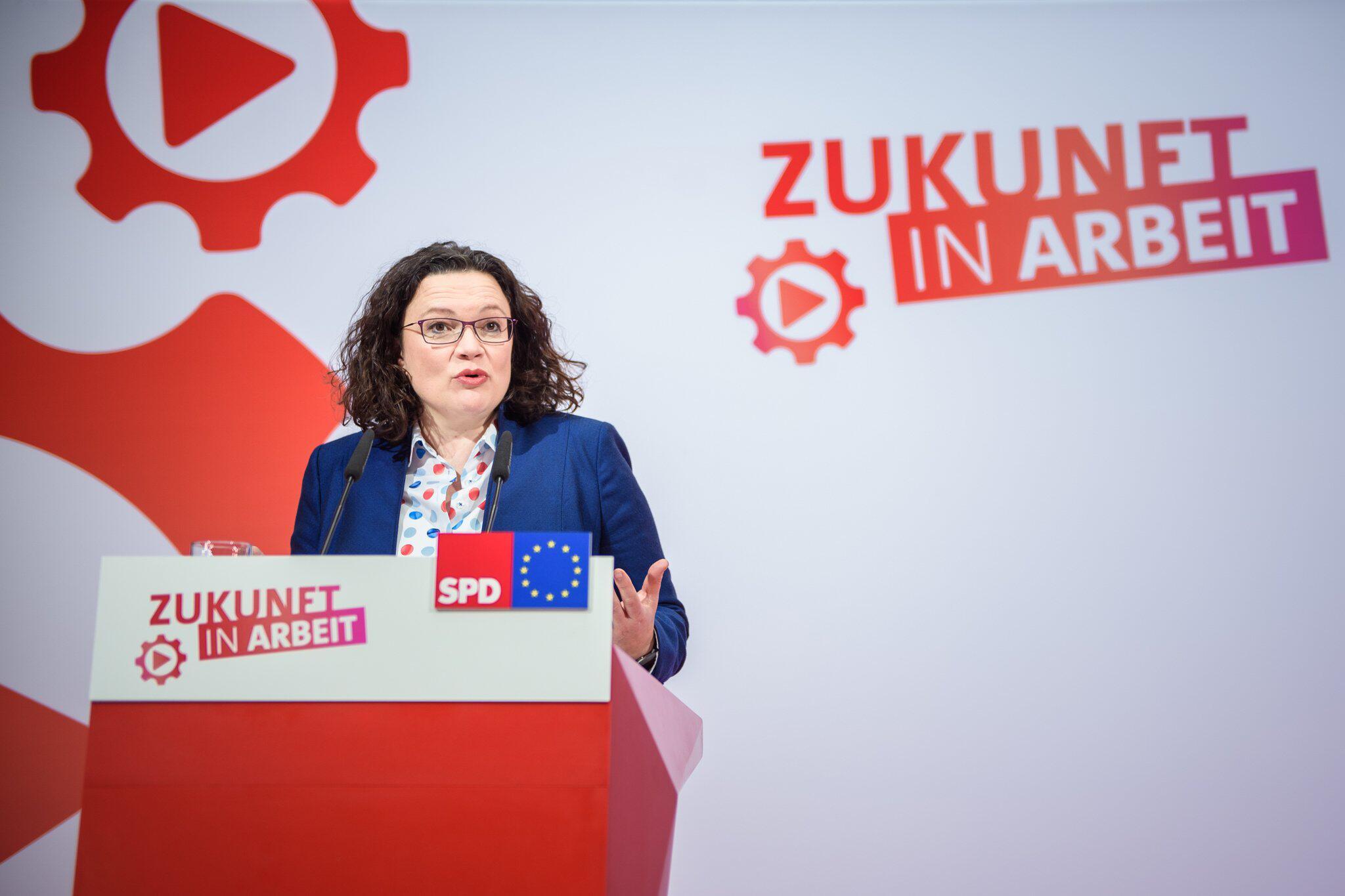 Bild zu SPD-Spitze beendet Klausur