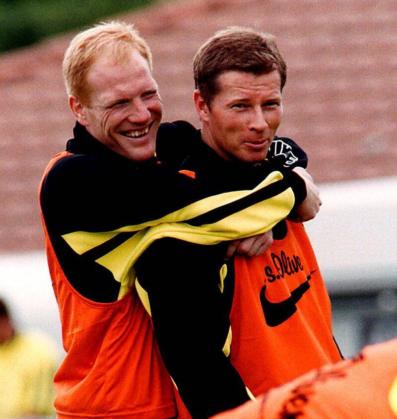 Bild zu Matthias Sammer und Stefan Reuter (Borussia Dortmund)