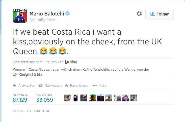 """Bild zu Mario Balotellis """"Quid pro Quo"""""""