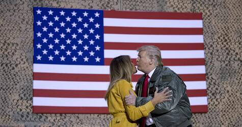 Trump und First Lady besuchen US-Truppen im Irak