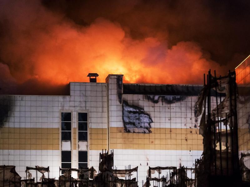 Bild zu Brand in Russland