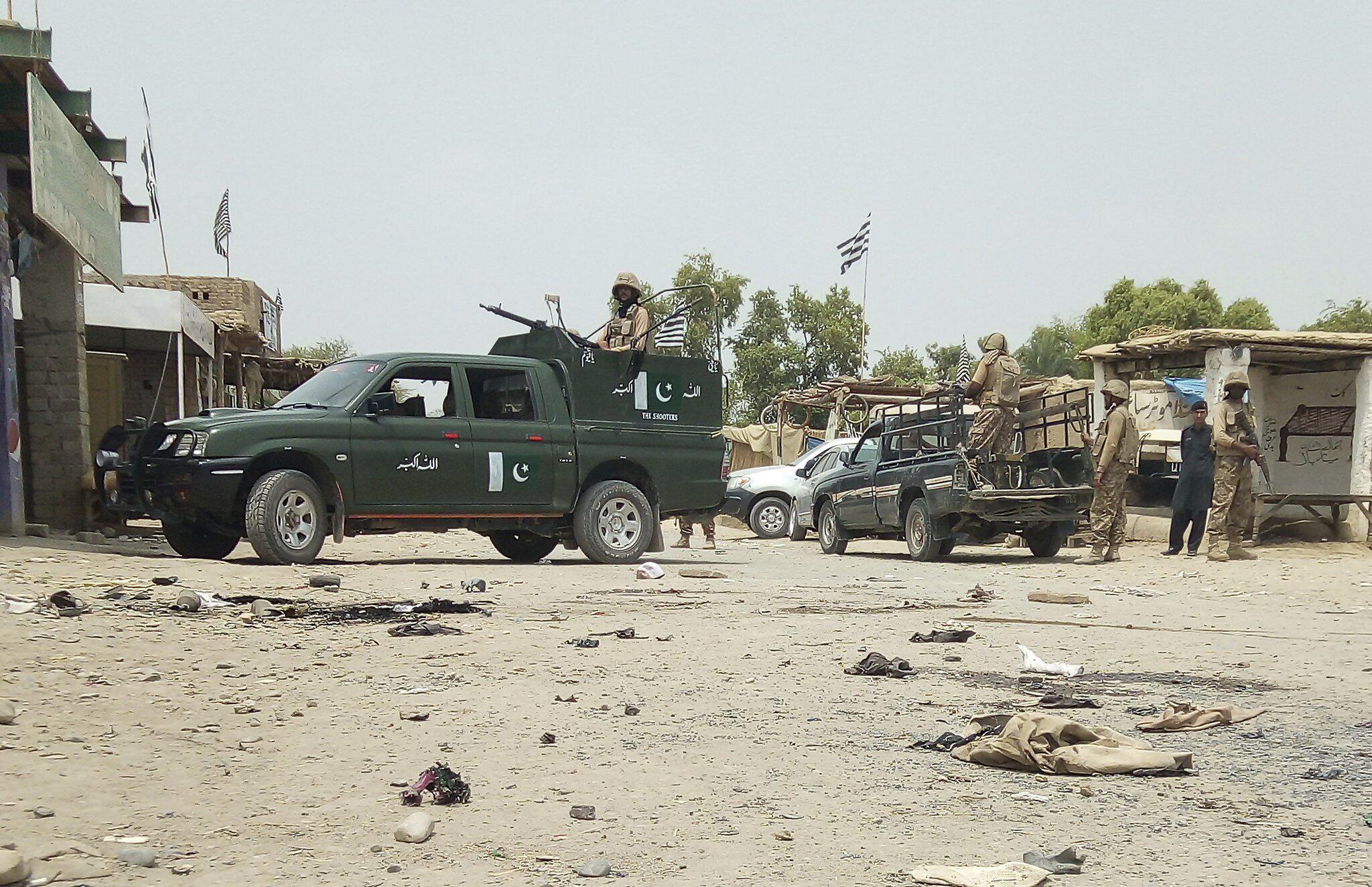 Bild zu Zwei Anschläge im pakistanischen Wahlkampf