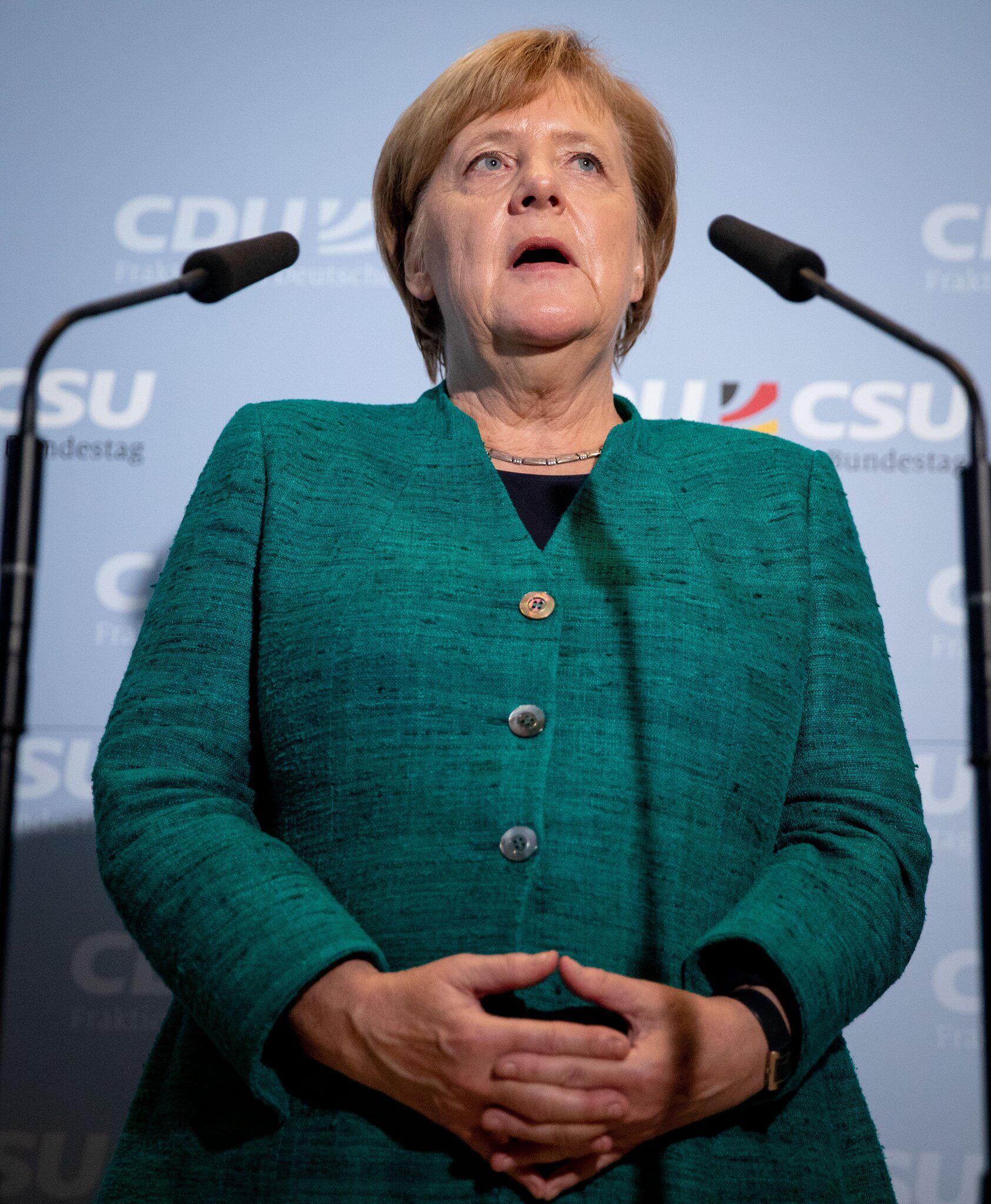 Bild zu Angela Merkel, CDU