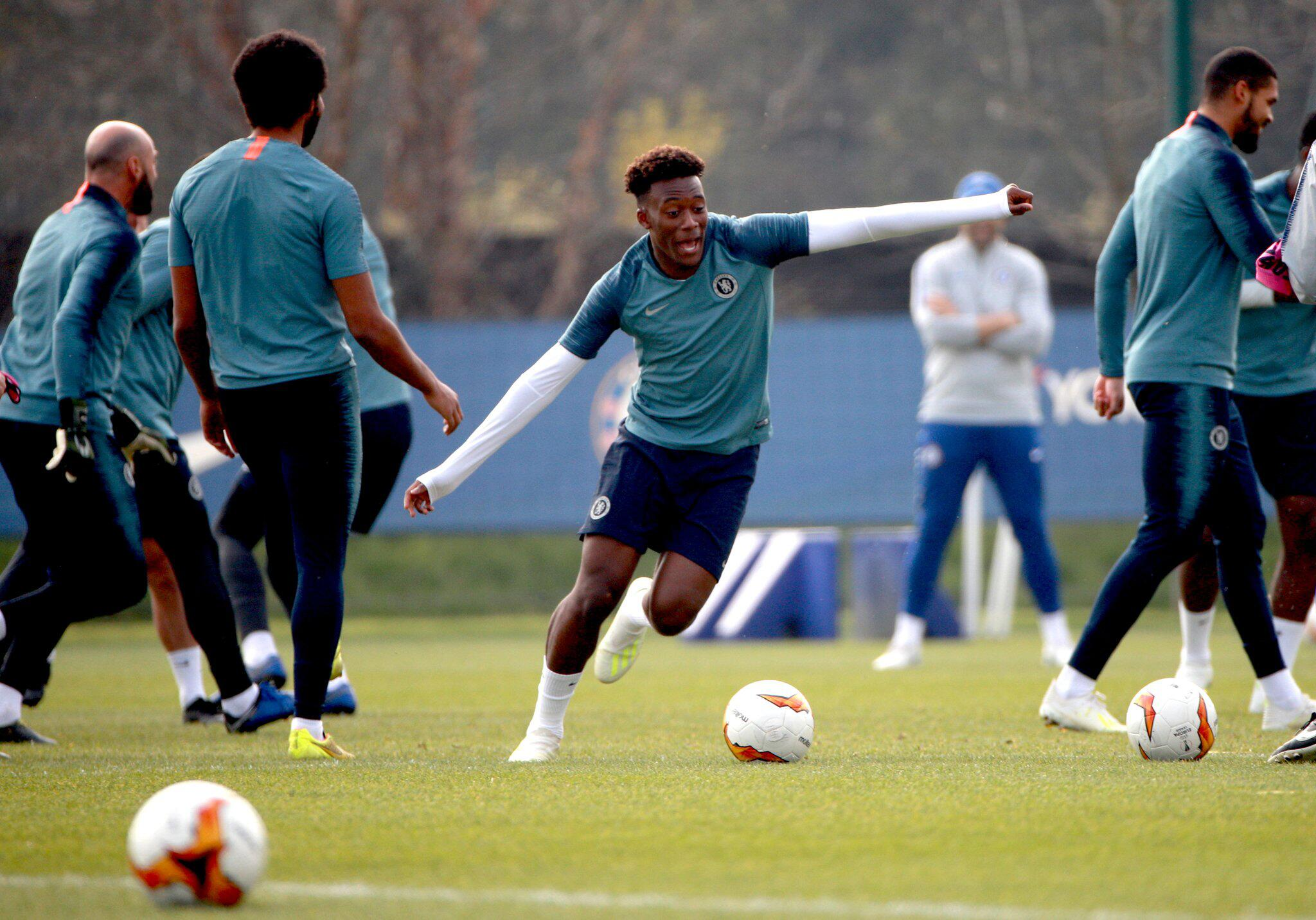 Bild zu Training FC Chelsea