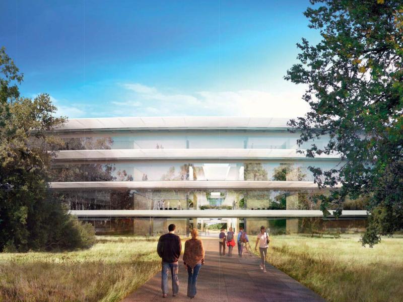 Bild zu Neuer Apple Campus
