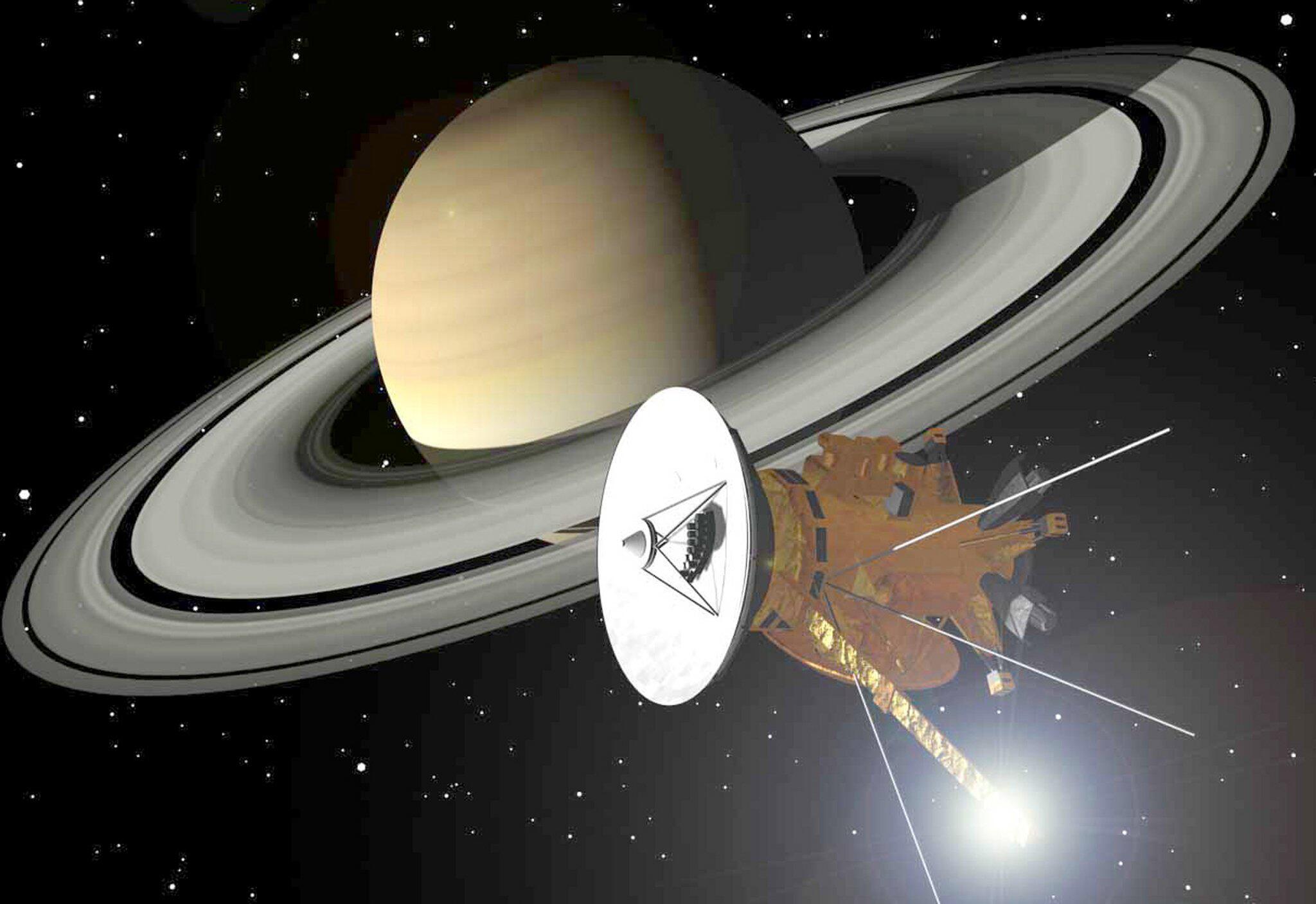 Bild zu Raumsonde Cassini