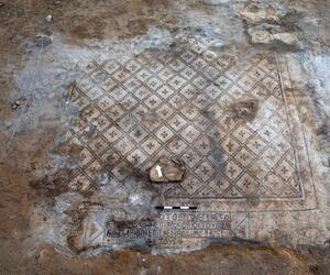 Archäologen entdecken 1500 Jahre alten Mosaikboden in Israel