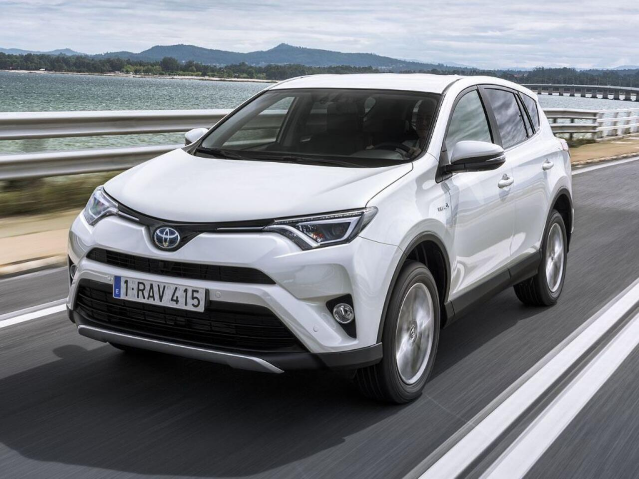 Bild zu Platz 5 - Modell: Toyota RAV4 Hybrid 2.5