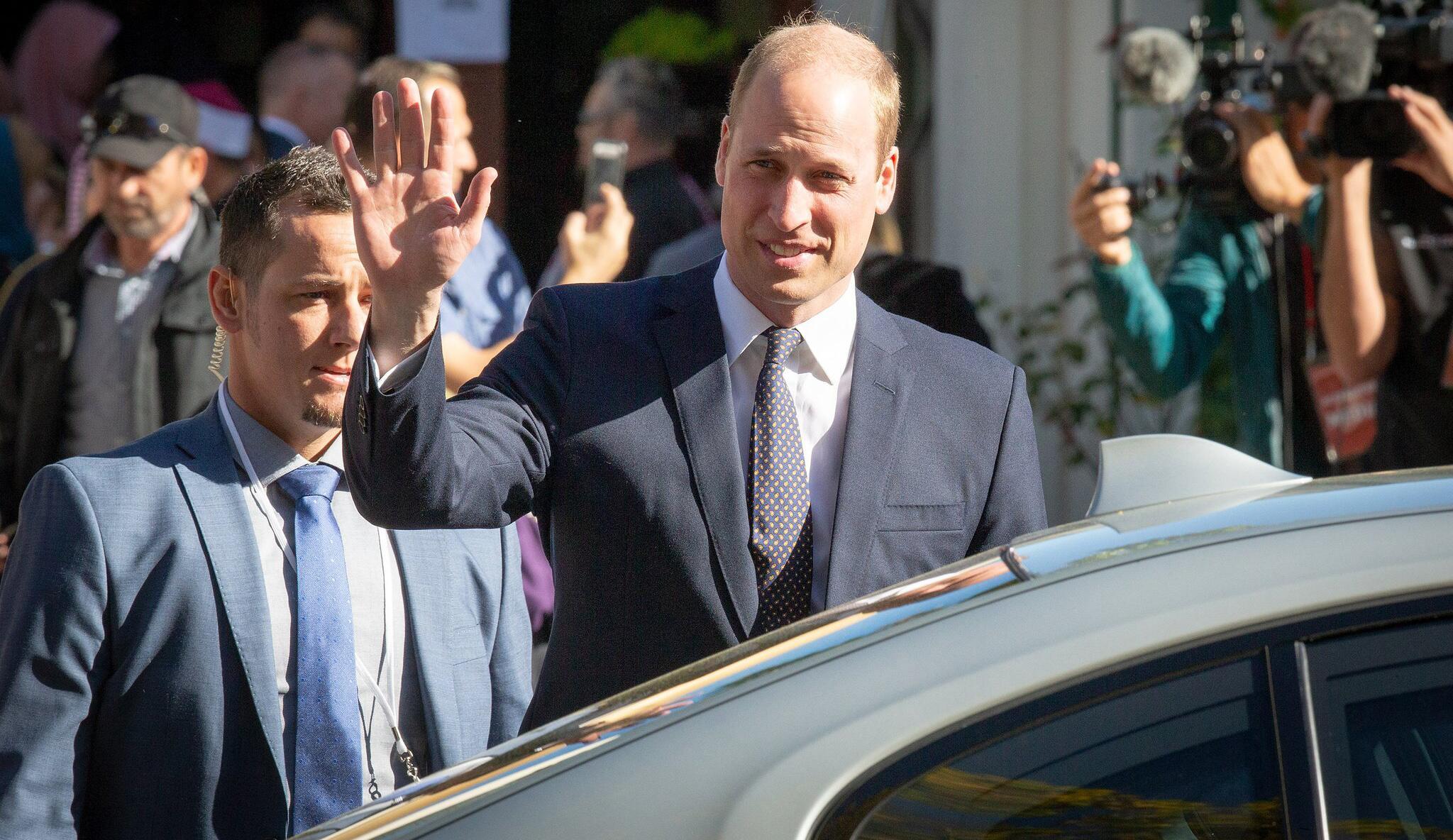 Bild zu Prinz William in Neuseeland
