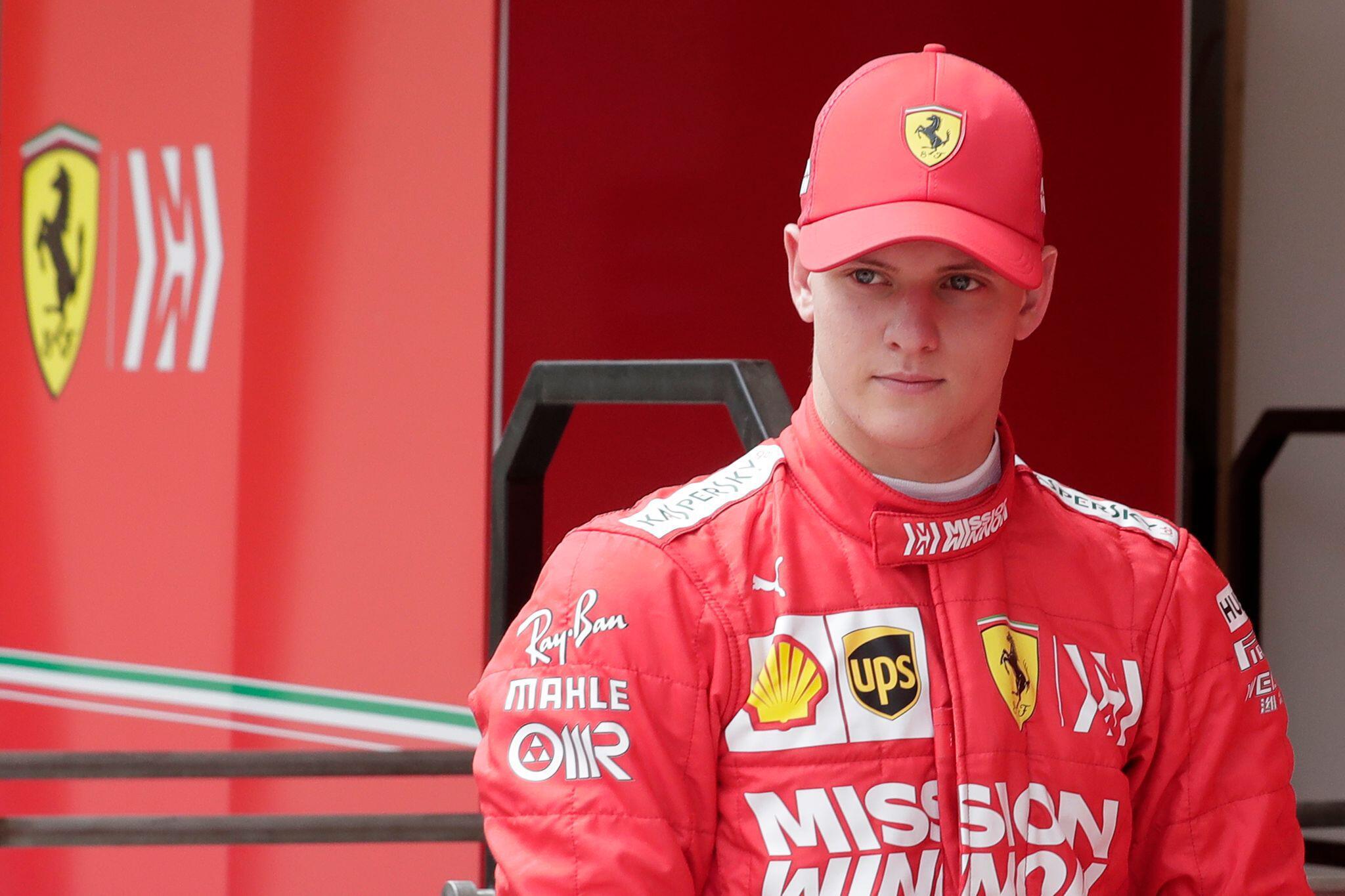 Bild zu Rennfahrer Mick Schumacher