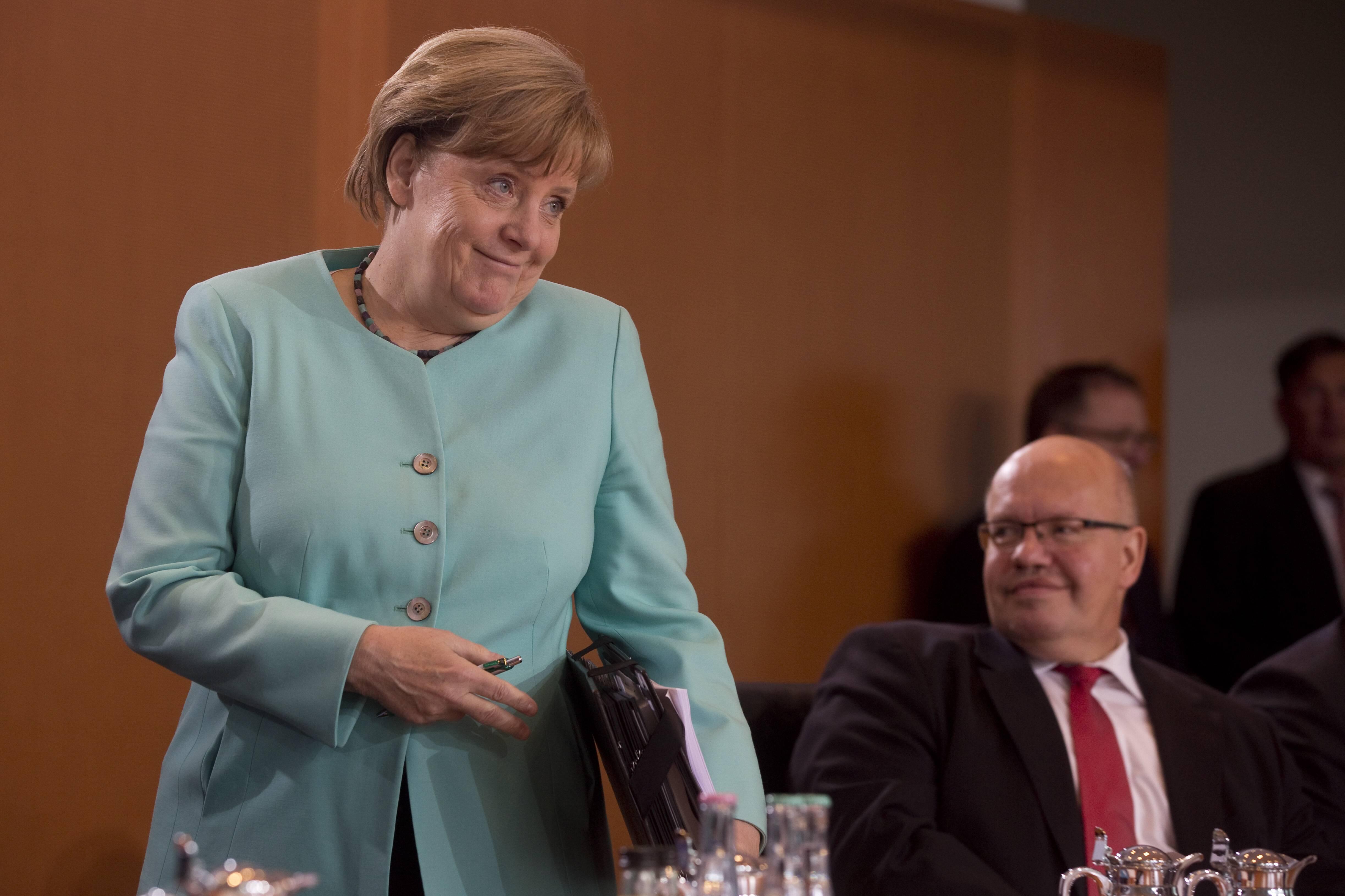 Bild zu Bundeskanzler, Angela Merkel, Bundestagswahl, Wahl 2017