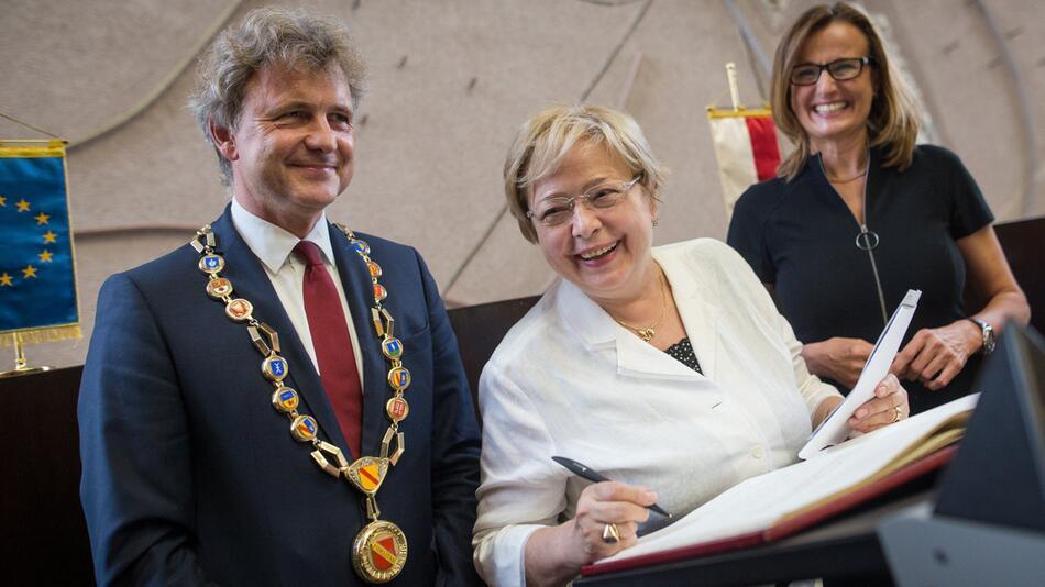 Gerichtspräsidentin Gersdorf in Karlsruhe
