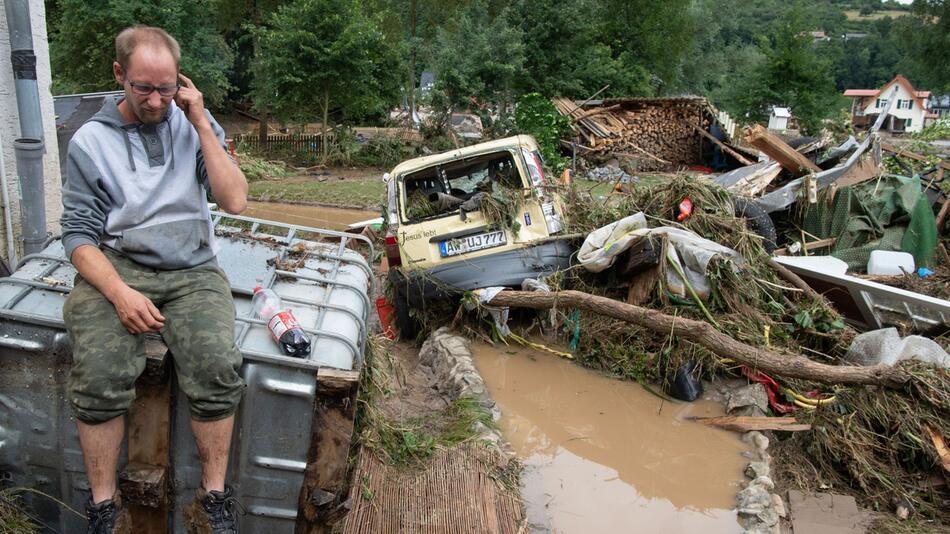 Zwei Wochen nach dem Hochwasser im Ahrtal